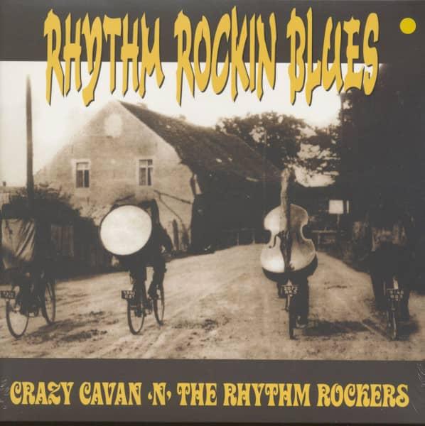 Rhythm Rockin Blues - Blue Vinyl (LP)
