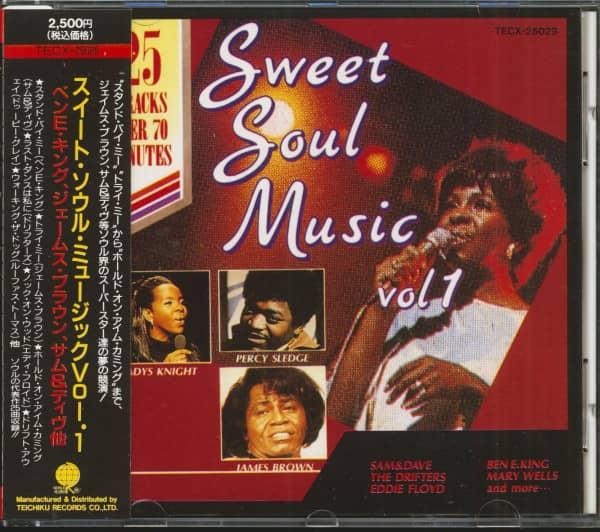 Sweet Soul Music Vol.1 (CD, Japan)