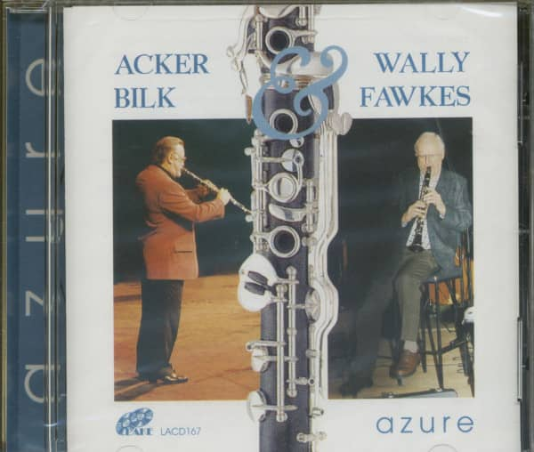 Mr. Acker Bilk & Wally Fawkes - Azure (CD)