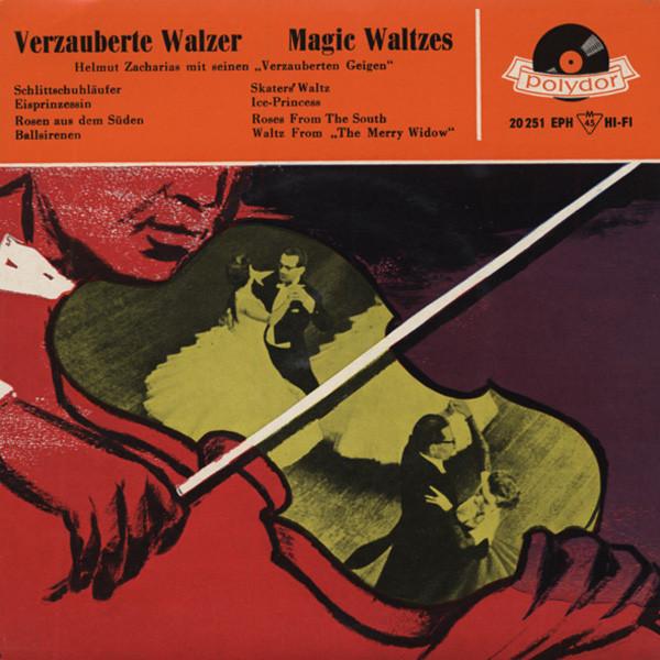 Verzauberte Walzer 7inch, 45rpm, EP Bildhülle