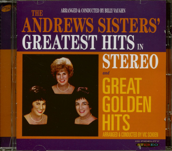 Greatest Hits In Stereo - Great Golden Hits (CD)