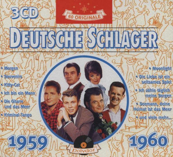 Deutsche Schlager 1959-60 (3-CD)