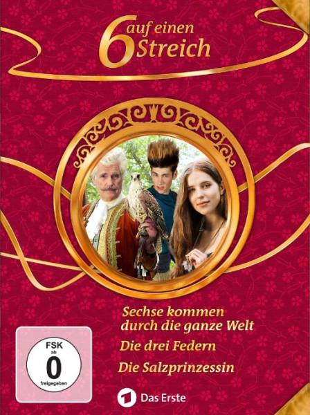 Sechs auf einen Streich - Märchenbox Vol. 12 (3-DVD)