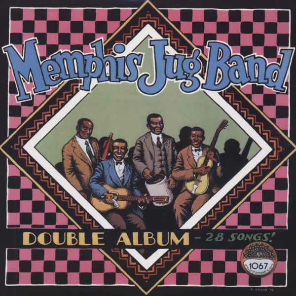Memphis Jug Band (2-LP)
