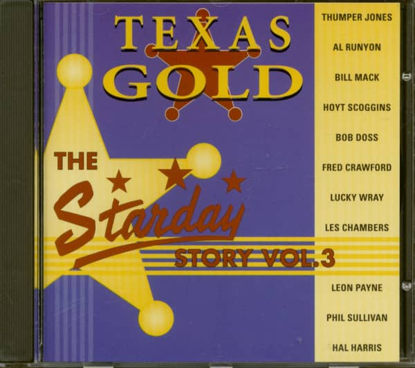 Texas Gold - The Starday Story Vol.3 (CD)