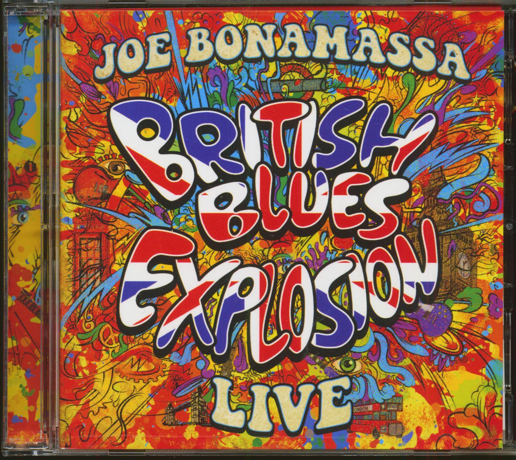 da2a9f2d Joe Bonamassa CD: British Blues Explosion Live (2-CD) - Bear Family ...