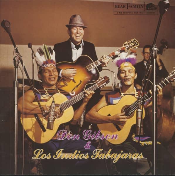 Don Gibson And Los Indios Tabajaras (Vinyl)