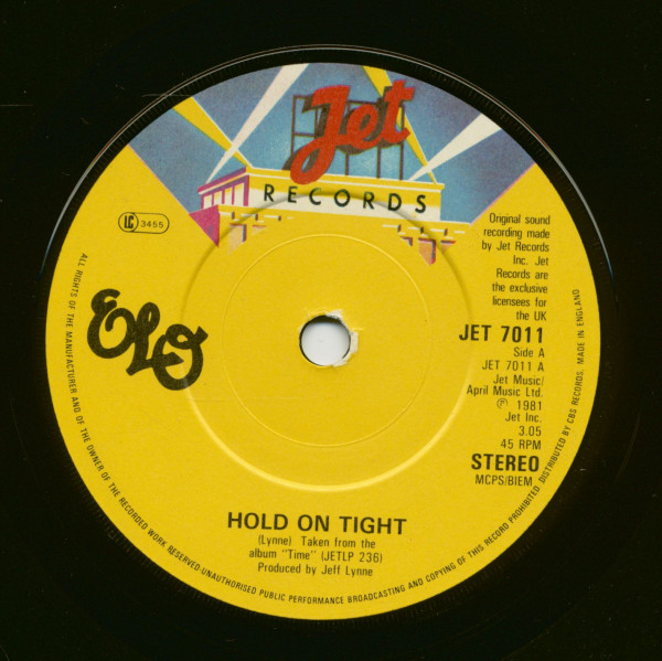 Hold On Tight - When Time Stood Still (7inch, 45rpm, SC)