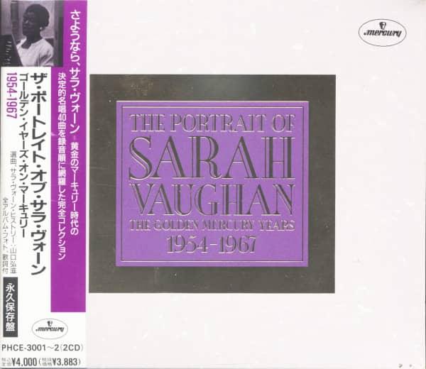 The Portrait Of Sarah Vaughan - The Golden Mercury Years (2-CD)