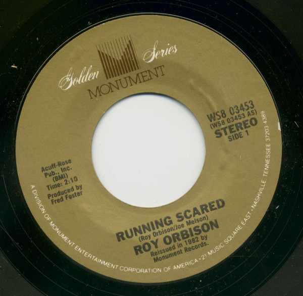 Running Scared - Love Hurts (7inch, 45rpm, BC)
