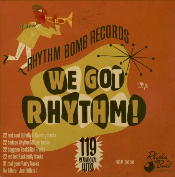 We Got Rhythm - The Rhythm Bomb Box (5-CD)