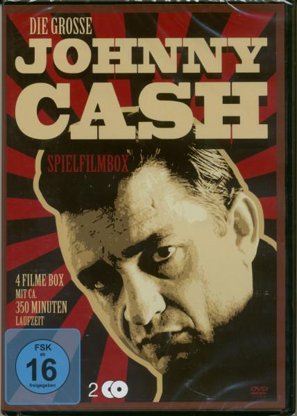 Die große Johnny Cash Spielfilmbox (2-DVD)