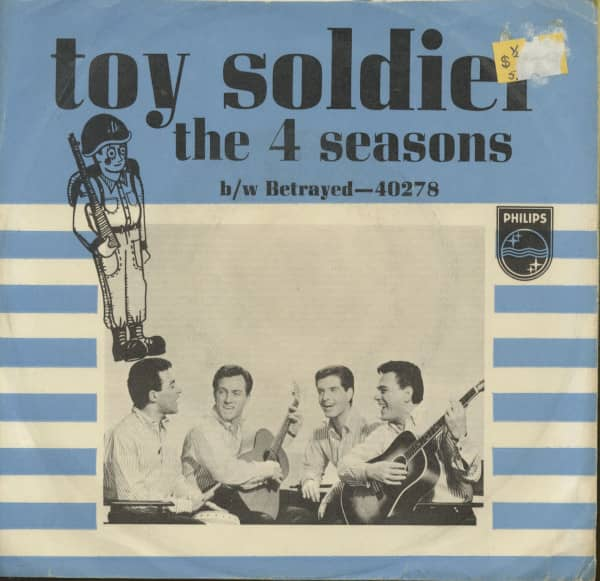 Toy Soldier - Betrayed (7inch, 45rpm, PS)