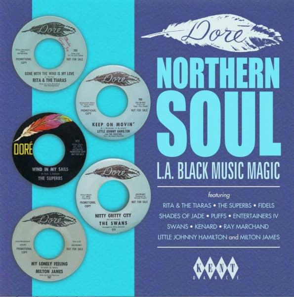 Dore Northern Soul - L.A. Black Magic (LP)