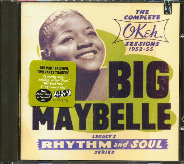 The Complete OKeh Sessions 1952-55 (CD)