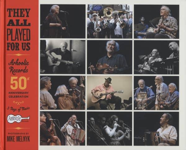 Arhoolie Records 50th Anniversary (4-CD - Book)