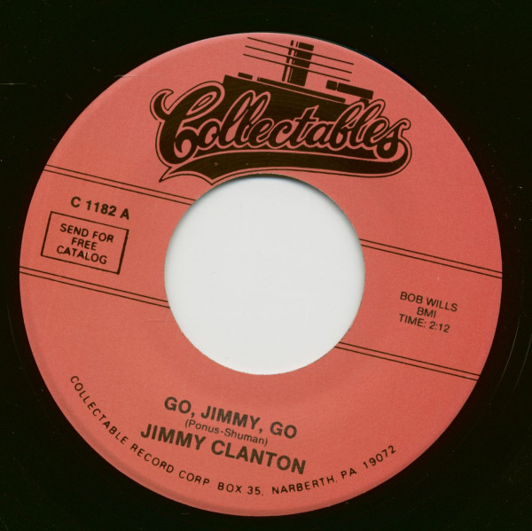 Go, Jimmy, Go - I Trusted You (7inch, 45rpm)