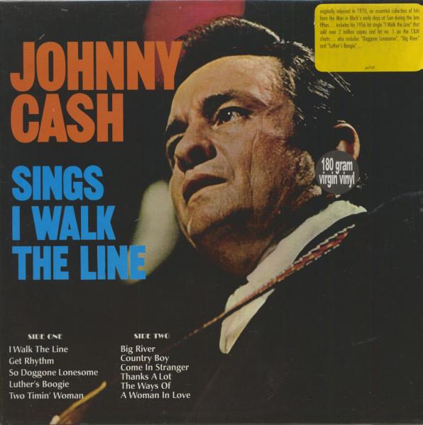 Johnny Cash Sings I Walk The Line (LP, 180g Vinyl)
