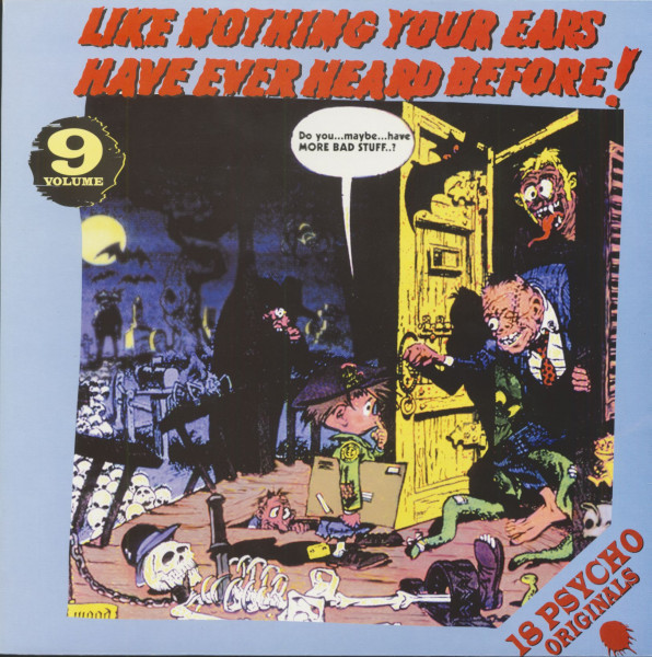 Like Nothing Your Ears Have Ever Heard Before! Vol.09 (LP)