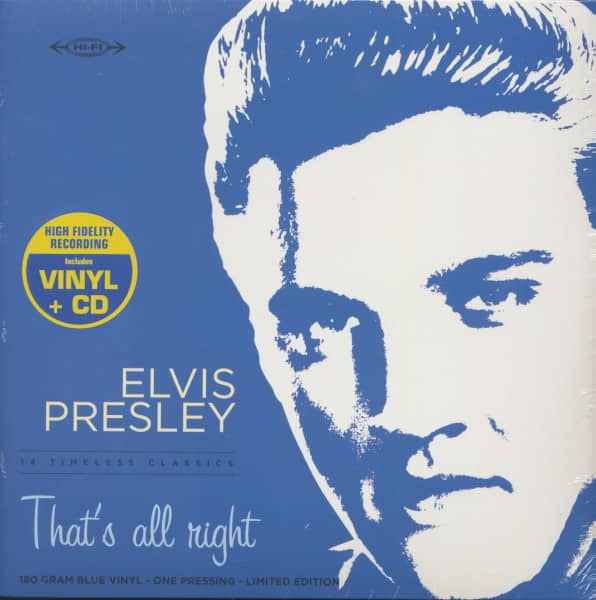 That's All Right (LP with CD, 180g Vinyl, Ltd.)