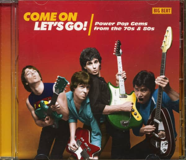 Come On Let's Go! Power Pop Gems Fromt The 70's & 80s (CD)