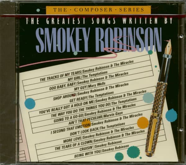 The Greatest Songs Written By Smokey Robinson (CD)