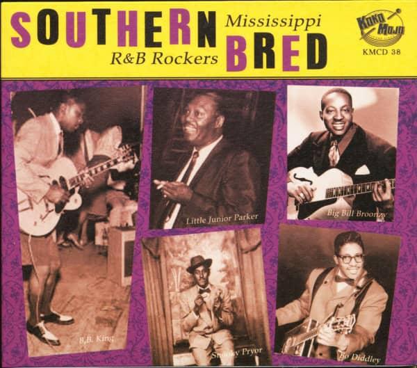 Southern Bred Vol.5 - Mississippi R&B Rockers (CD)