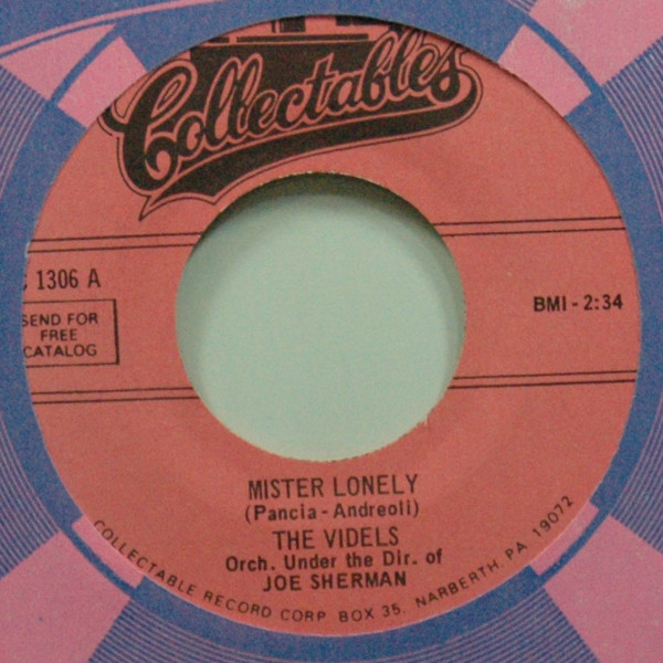 Mister Lonely b-w I'll Forget You 7inch, 45rpm