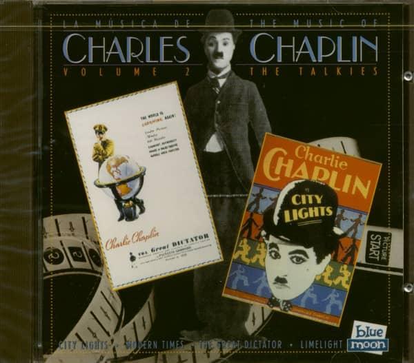 The Music Of Charles Chaplin Vol.2 - The Talkies (CD)