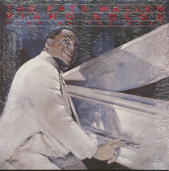 The Fats Waller Piano Solos - Turn On The Heat (2-LP)