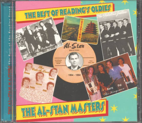 The Al Stan Masters - The Best Of Reading's Oldies (CD)