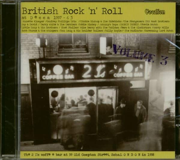 British Rock'n'Roll At Decca Vol.3 (CD)