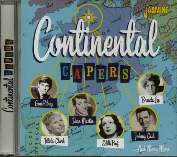 Continental Capers (CD)