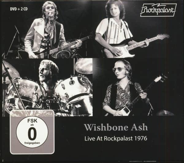 Live At Rockpalast 1976 (2-CD & DVD)