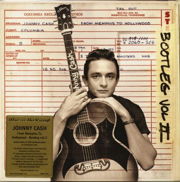 Bootleg Vol.2 - From Memphis To Hollywood (3x180g LP, Clear Vinyl, Ltd.)