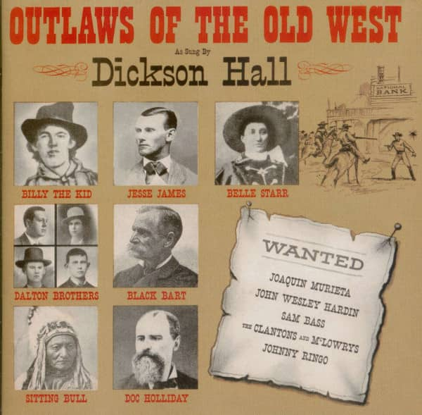 Outlaws Of The Old West (CD)