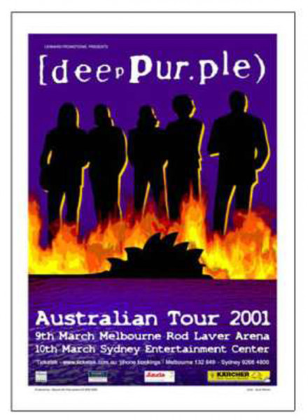 Australian Tour 2001 - numbered