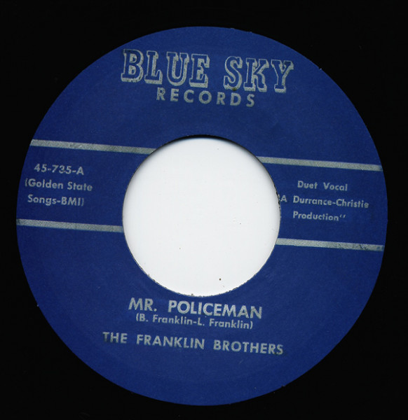 Oh Laura - Mr. Policeman (7inch, 45rpm)