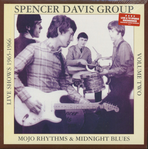 Mojo Rhythms And Midnight Blues, Vol.2 - Live Shows 1965 - 1966 (LP, 180g Vinyl)