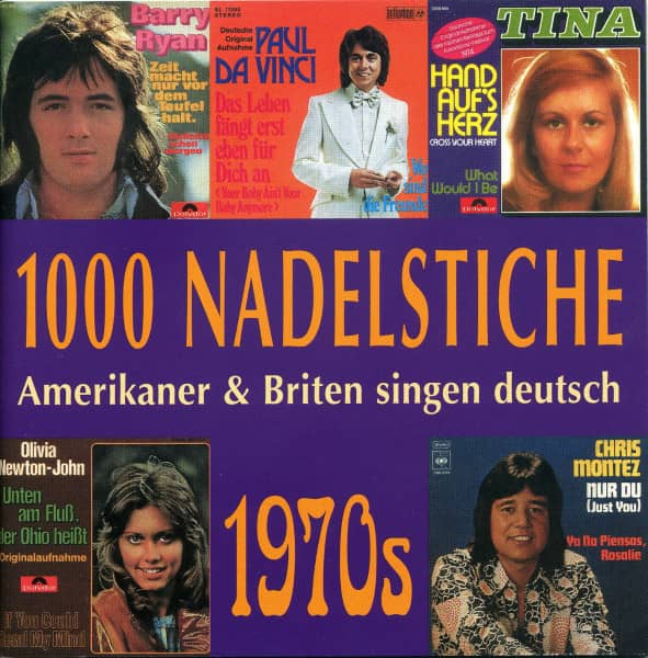 Vol.08, 1970er - Amerikaner & Briten singen deutsch (CD)