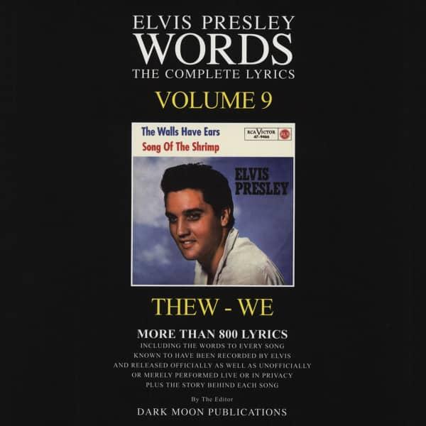 Words Vol.09 - The Complete Lyrics THEW-WE