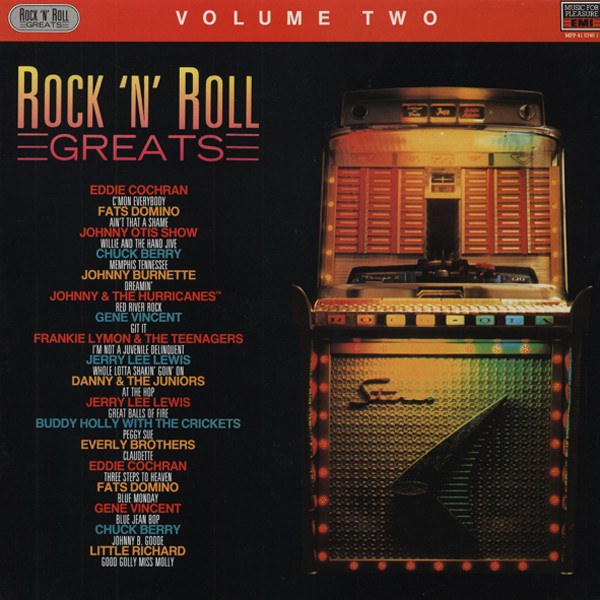 Rock & Roll Greats, Vol.2 (LP)