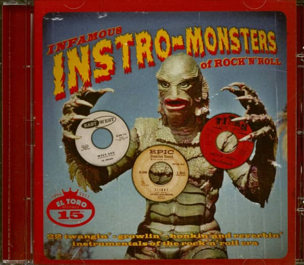 Infamous Instro Monsters Of Rock'n'Roll (CD)