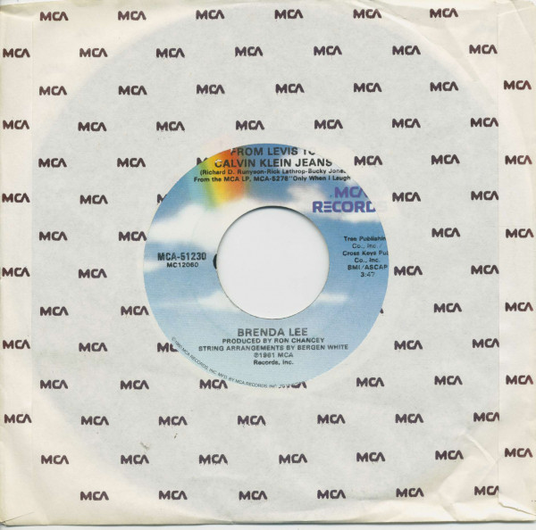 From Levis To Calvin Klein Jeans - I Know A Lot About Love (7inch, 45rpm, BC, CS)