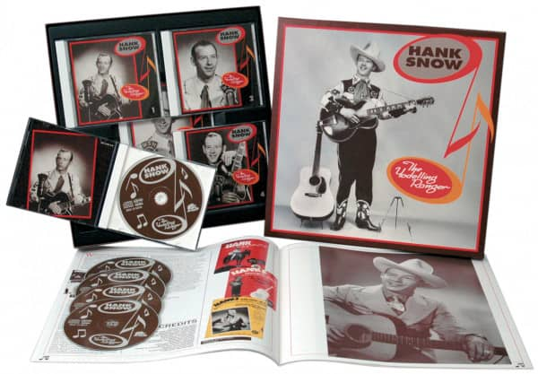 The Yodelling Ranger (5-CD)
