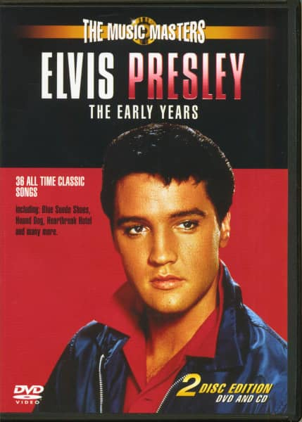 Elvis Presley - The Early Years (CD & DVD)