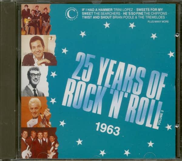 25 Years Of Rock 'N' Roll 1963 - Volume 2 (CD)