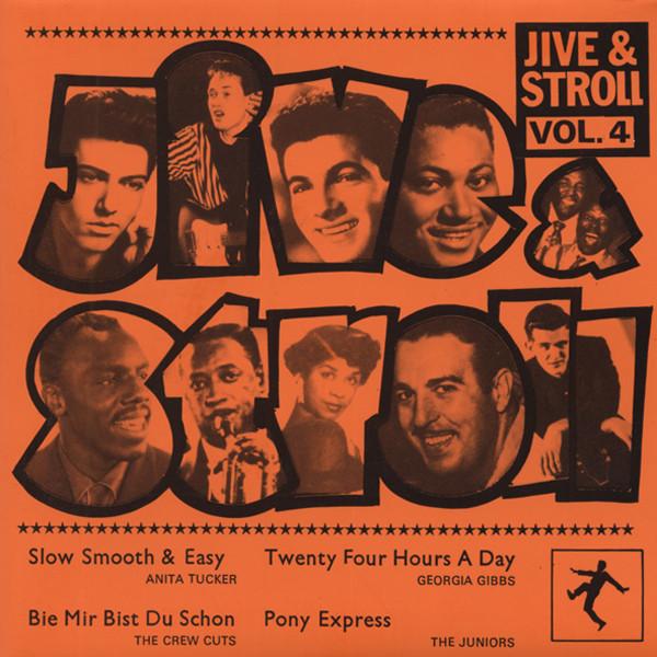 Vol.4, Jive & Stroll 7inch, 45rpm, EP, PS, SC