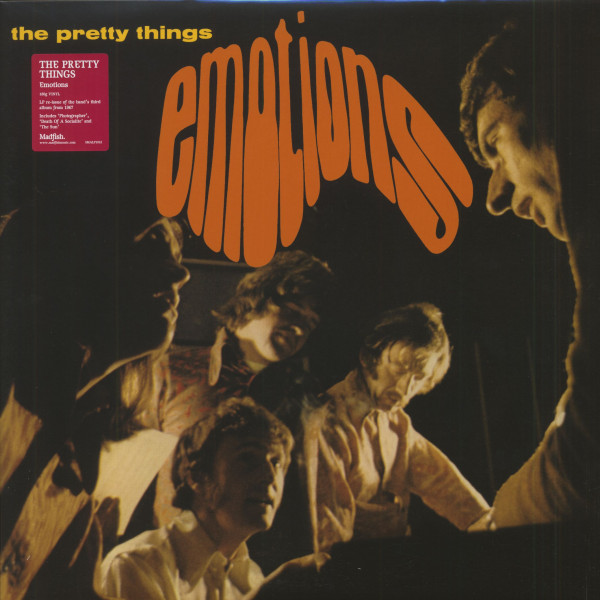 Emotions (LP, 180g Vinyl, Ltd.)
