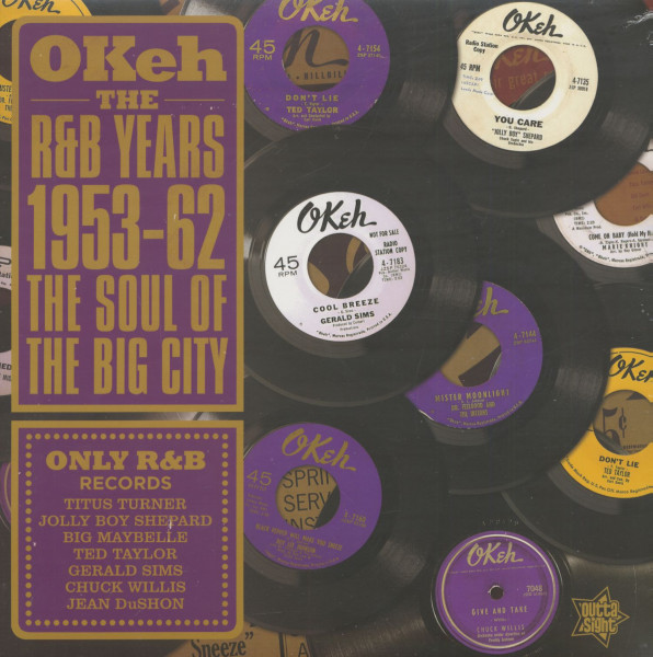 Okeh - The R&B Years 1953-62 - The Sound Of The Big City (LP)
